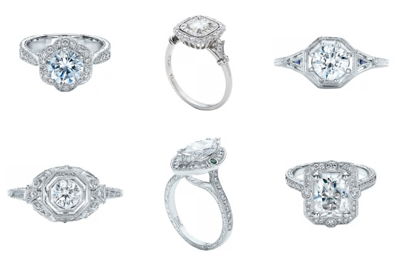 engagement ring styles diamonds